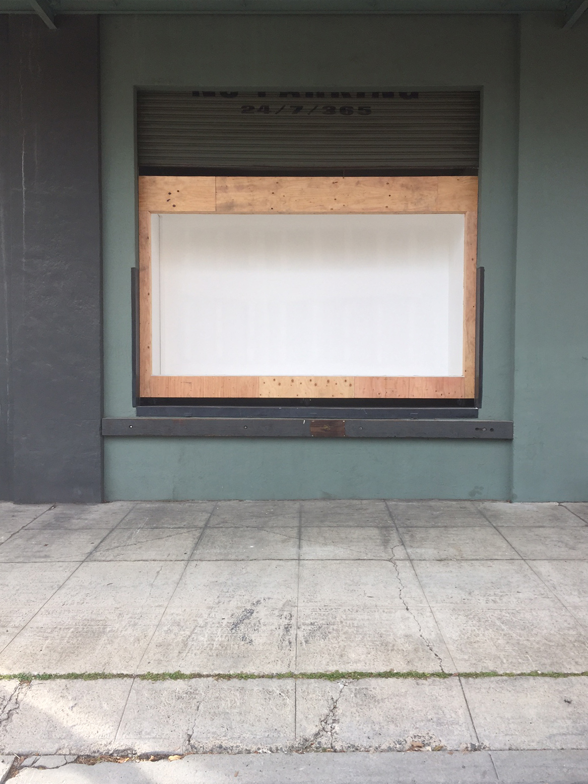 Roll Up Project Door during construction