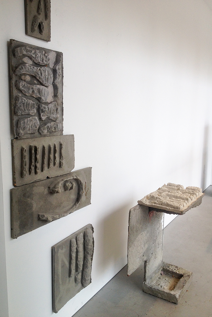 Sahar Khoury, Bone Relief, Roll Up Project, 2018